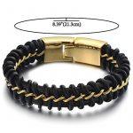 Bracelet homme metal noir ; comment choisir les meilleurs modèles TOP 5 image 1 produit