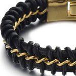 Bracelet homme metal noir ; comment choisir les meilleurs modèles TOP 5 image 3 produit