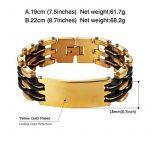 Bracelet homme or jaune - faire le bon choix TOP 0 image 1 produit