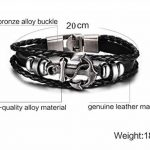 Bracelet homme tressé cuir - comment acheter les meilleurs modèles TOP 4 image 5 produit