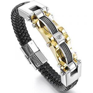 Bracelet jonc or homme : faites des affaires TOP 7 image 0 produit