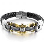 Bracelet jonc or homme : faites des affaires TOP 7 image 1 produit