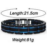 Bracelet pour homme en acier : faire le bon choix TOP 3 image 1 produit