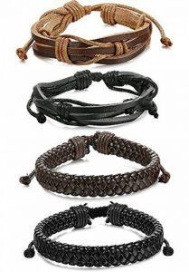 Fabriquer bracelet cuir tresse homme