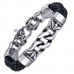 Bracelets en cuir pour homme, faire une affaire TOP 5 image 1 produit