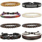 Bracelets en cuir pour homme, faire une affaire TOP 7 image 1 produit