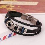 Bracelets en cuir pour homme, faire une affaire TOP 9 image 2 produit