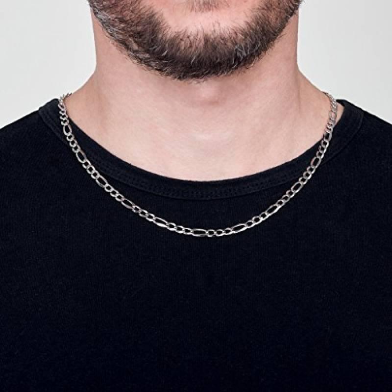 collier argent femme 70 cm