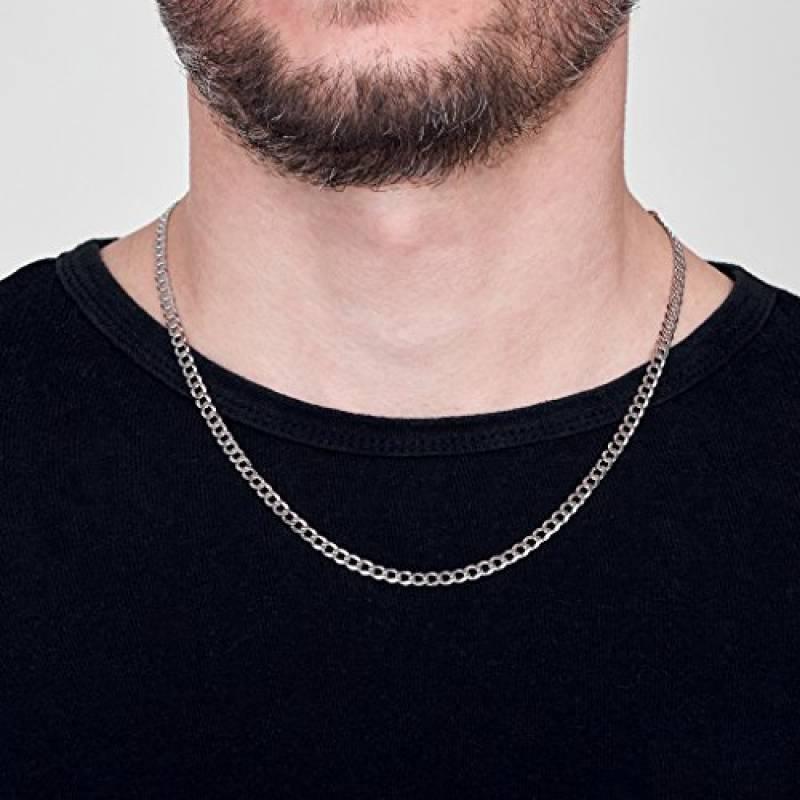 81fc45459e135 Chaine plaqué argent homme, acheter les meilleurs produits pour 2019 ...