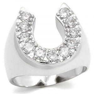 Chevaliere homme or blanc avec diamant, le top 13 TOP 5 image 0 produit