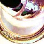 Collier Chaine lourd Grain de Café or doublé 10/000, 10mm longueur au choix, femme homme collier bijoux cadeaux de italien usine tendenze de la marque tendenze-ITALY image 5 produit