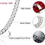 Collier chaine pour homme ; top 7 TOP 4 image 1 produit