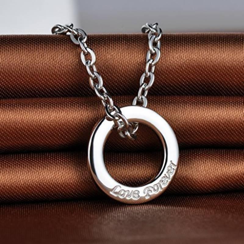 27d625e865069 Infinite U pendentif collier élégant le cercle classique