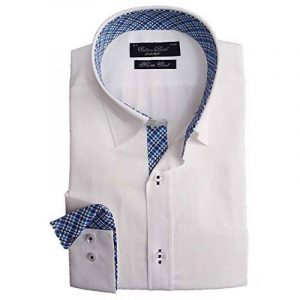 Cotton Park - Chemise blanche Saclay - Homme de la marque Cotton Park image 0 produit