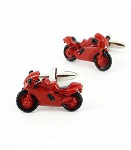 Cravate Avenue Signature - Bouton De Manchette, Moto Rouge de la marque Cravate Avenue Signature image 0 produit