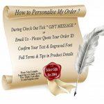Drapeau de la Turquie Cravate boutons de manchette en argent gravé Cadeau de la marque Select Gifts image 2 produit