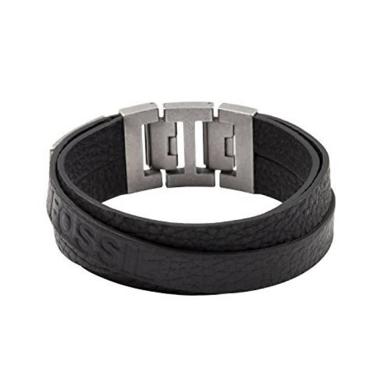 bracelet homme fossil cuir faire des affaires pour 2018 bijoux pour homme. Black Bedroom Furniture Sets. Home Design Ideas