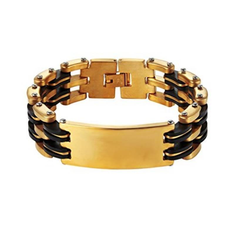 83ea37d18b4 Notre sélection de bracelet homme acier et or jaune