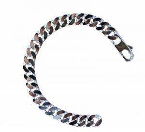 Grosse gourmette epaisse longue et large pour Homme. bracelet en argent massif 925 Luxe 22cm ASCALIDO® de la marque ASCALIDO image 0 produit