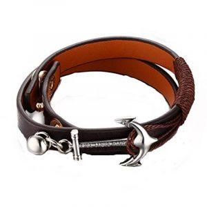 GYJUN Bracelet Chaînes & Bracelets Cuir Soirée / Quotidien / Décontracté / Sports Bijoux Cadeau Noir,1pc de la marque GYJUN Bracelet image 0 produit