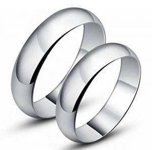 Infinite U Argent 925 Couples Bagues pour Anniversaire/Fiançailles/Promesse Taille de Bague de 49 à 64 de la marque Infinite U image 0 produit