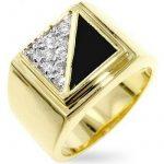 ISADY - Jazz - Bague Homme - Chevalière - Oxyde de zirconium - Onyx noir de la marque Isady image 5 produit