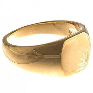 ISADY - Lovely Gold - Bague Mixte Homme Femme - Chevalière - Plaqué Or 750/000 (18 carats) de la marque Isady image 0 produit
