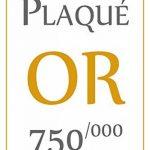 ISADY - Precious Gold - Bague Mixte Homme Femme - Chevalière - Plaqué Or 750/000 (18 carats) de la marque Isady image 3 produit