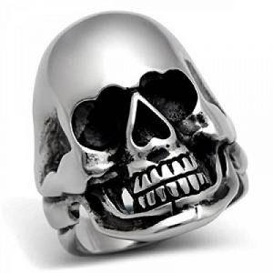 ISADY - Seymour - Bague Homme - Chevalière - Acier - Tête de mort - Crâne de la marque Isady image 0 produit
