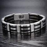 Jewow Bijoux acier inoxydable Bracelet pour les Homme 22CM de la marque Jewow image 1 produit