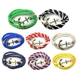 Jiayiqi Femmes Hommes Populaires D'ancrage Bracelet Corde Multicouche Bricolage Tresse Manuel de la marque Jiayiqi image 0 produit