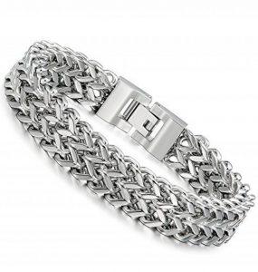 Jstyle Bijoux Acier Inoxydable Bracelet Homme 20.5cm 21.5cm de la marque Jstyle image 0 produit
