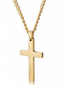 Jstyle Bijoux Acier inoxydable Collier pour Homme avec Croix Pendentif Religieuse de la marque Jstyle image 0 produit