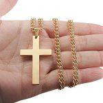 Jstyle Bijoux Acier inoxydable Collier pour Homme avec Croix Pendentif Religieuse de la marque Jstyle image 2 produit
