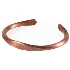 KERDYNELLE® - BRACELET CUIVRE Massif pur fabriqué à la main, Homme ou Femme de la marque KERDYNELLE image 0 produit