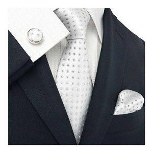 landisun Geometric Pattern - Set De Cravates - Homme de la marque landisun image 0 produit
