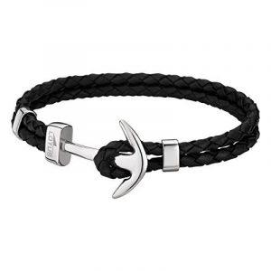 Lotus - LS1832-2/1 : Bracelet Homme Cuir et Acier - Ancre noir de la marque Lotus image 0 produit