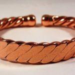Magnétique Homme Lourde Aplatis Cuivre Bracelet MCB023 de la marque The Online Bazaar image 1 produit