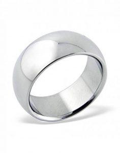 Mon-bijou - H16683 - Bague miroir en acier inoxydable de la marque Mon-bijou image 0 produit