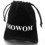 MOWOM Noir 2 Pièce Acier Inoxydable Boutons De Manchette Chemise Mariage Business de la marque MOWOM image 3 produit