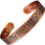 MPS® Bracelet jonc, Bracelet magnétique en cuivre, Avec six aimants--#N-BAC-68-C-MJUK de la marque MPS image 4 produit