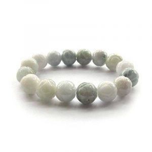 Ovalbuy Grade a Jadeite bouddhiste tibétain mâlâ en Jade Perles Bracelet Bracelet de méditation de la marque Ovalbuy image 0 produit