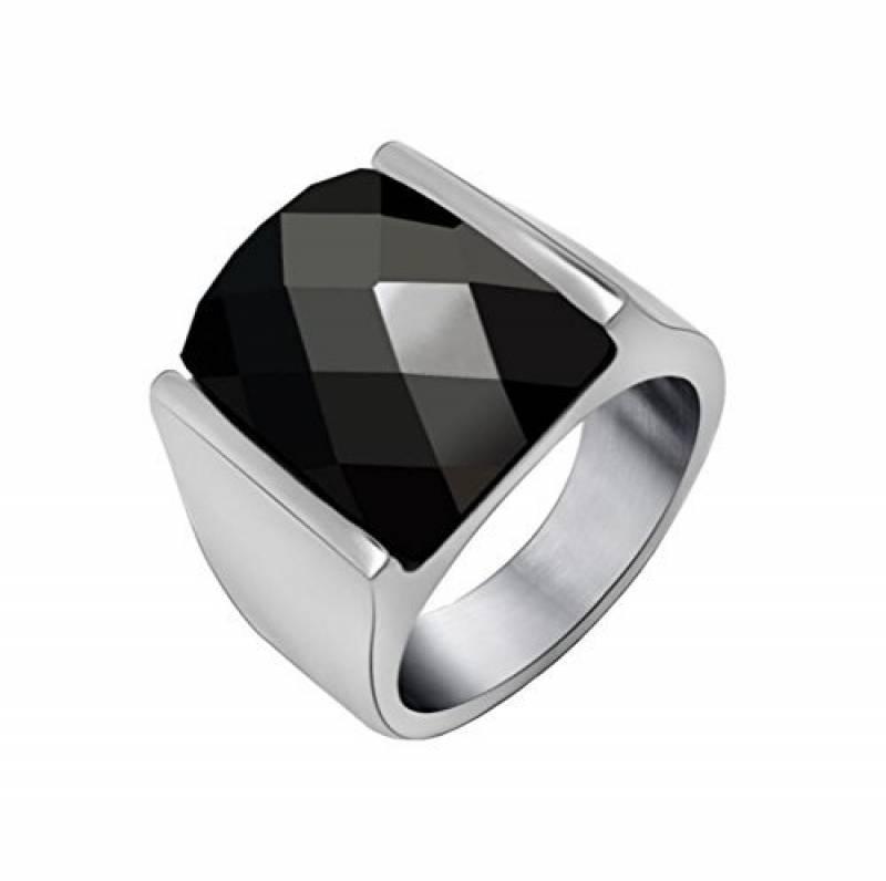 Bague argent homme avec pierre noire pour 2019 - le top 13   Bijoux ... 9cbafa3f26a3