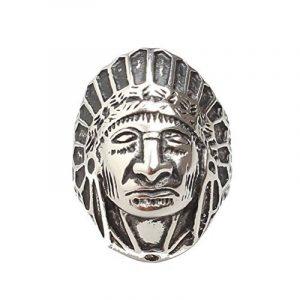 PAURO Hommes Acier Inoxydable Bagues Indiennes de la marque PAURO image 0 produit