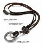 Sailimue 3-4 PCS Collier Cuir pour Homme Femme Vintage Collier avec Pendentif Croix Plume Ajustable de la marque Sailimue image 3 produit
