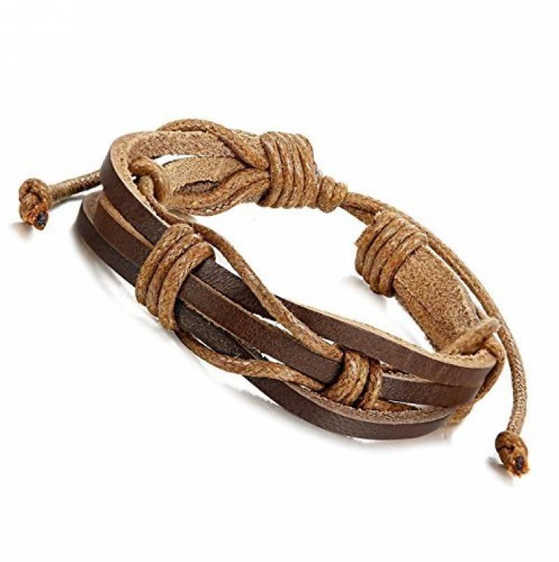 bracelet pour homme en cuir comment trouver les meilleurs mod les pour 2018 bijoux pour homme. Black Bedroom Furniture Sets. Home Design Ideas