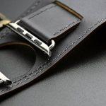 Sanday Bracelet de montre pour Apple Watch Sangle en cuir véritable Option 38mm et 42mm de la marque Sanday® image 3 produit