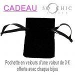 So Chic Bijoux © Chaîne 50 cm Maille Cheval Diamantée 2,5 mm Cou Argent 925 de la marque So Chic Bijoux image 2 produit