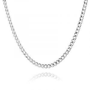 STERLL Chaîne pour hommes, en argent, avec une boite à bijou, idéale comme cadeau pour homme de la marque STERLL image 0 produit