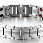 Style Raffiné - Homme Aimanté Bracelet Titane - Élément avec Aimants Germanium - Outil de Suppression de Lien Inclus de la marque COOLSTEELANDBEYOND image 2 produit